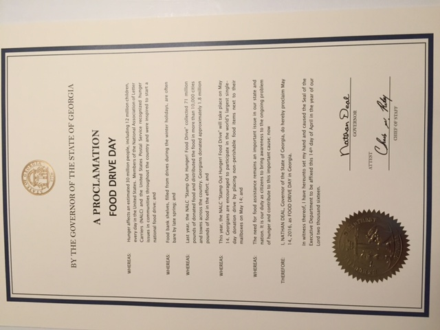Official Proclamations National Association Of Letter