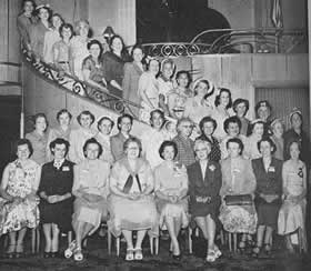 1950 25th Anniversary Party of Auxiliary Branch 280, Williamsport PA