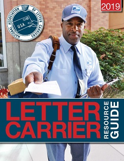 The printed version of the 2019 Letter Carrier Resource Guide is now available to order
