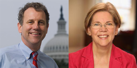 Sens. Brown and Warren warn of concerns over Fast Track