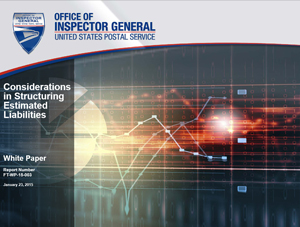 USPS OIG: The absurdity of pre-funding and its role in USPS' financial problems