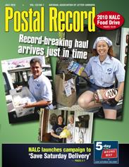 The Postal Record: July 2010 (Vol. 123, No. 7)