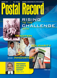 The Postal Record: August 2010 (Vol. 123, No. 8)