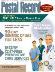 The Postal Record: November 2010 (Vol. 123, No. 10)