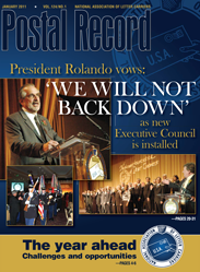 The Postal Record: January 2011 (Vol. 124, No. 1)
