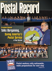 The Postal Record: November 2011 (Vol. 124, No. 11)