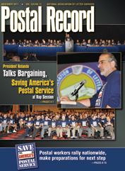 The Postal Record: November 2011 (Vol. 124, No. 11)