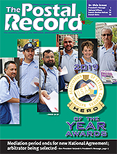 The Postal Record: December 2019 (Vol. 132, No. 12)