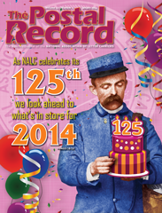 The Postal Record: January 2014 (Vol. 127, No. 1)