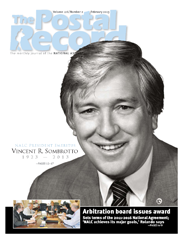 The Postal Record: February 2013 (Vol. 126, No. 2)