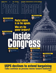 The Postal Record: March 2012 (Vol. 125, No. 3)