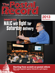 The Postal Record: March 2013 (Vol. 126, No. 3)