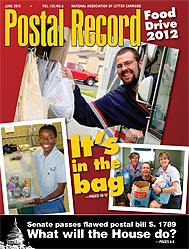The Postal Record: June 2012 (Vol. 125, No. 6)