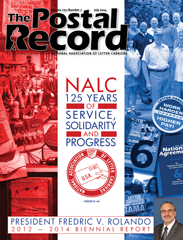 The Postal Record: July 2014 (Vol. 127, No. 7)