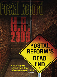 The Postal Record: August 2012 (Vol. 125, No. 8)