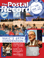 The Postal Record: August 2014 (Vol. 127, No. 8)