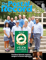 The Postal Record: November 2013 (Vol. 126, No. 11)