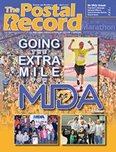 April 2017 Postal Record cover
