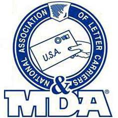 national association of letter carriers mda amp deliver the cure national association of letter 206
